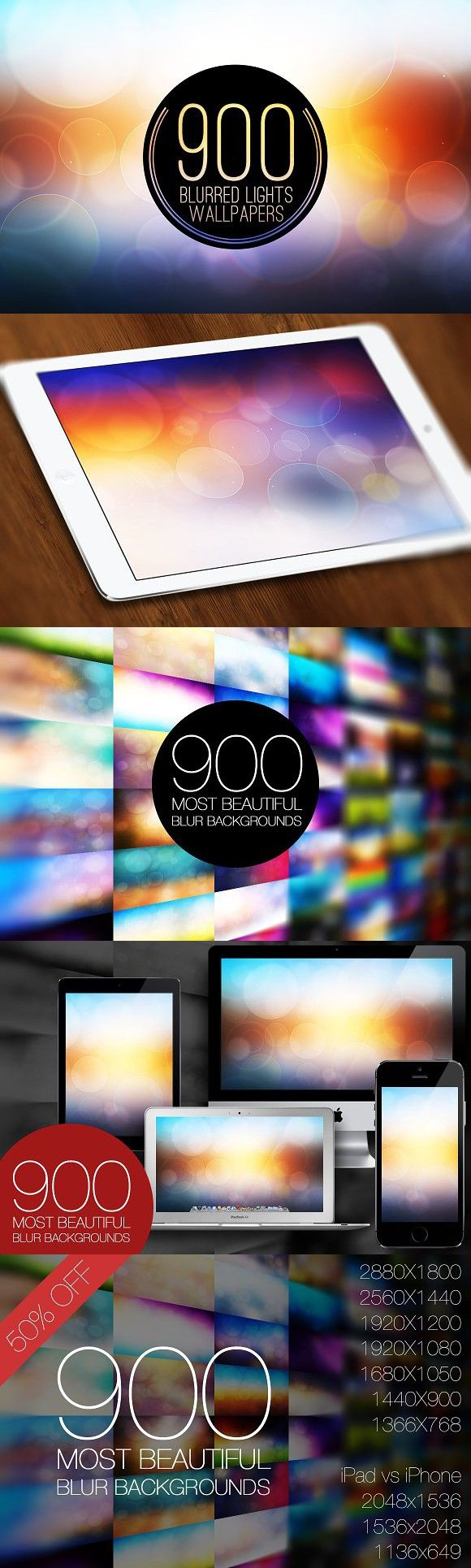 900 Blur Wallpapers (Blurred Lights) #blurredlights