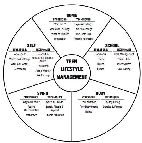 Teen wheel of life