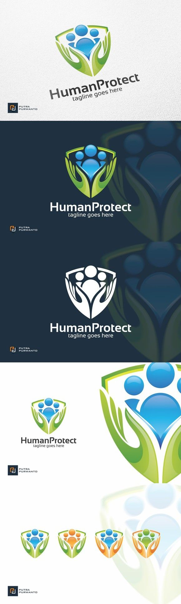 Human Protect - Logo Template. Logo Templates. $29.00