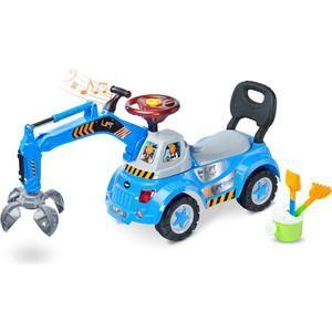 TOYZ Lift blue - синий  — 3380р. ------------------------------- Дополнительная информация  Интерактивная каталка, с помощью которой уборка в детской комнате для ребенка превратится в веселье. Используется для укрепления первых шагов. Транспортное средство соответствует всем необходимым нормам и изготавливается из твердых и безопасных материалов. Строительная машина с подьемным механизмом размещенным на вращающейся башне. Интерактивный руль оснащен различными звуками, мелодиями и огоньками…