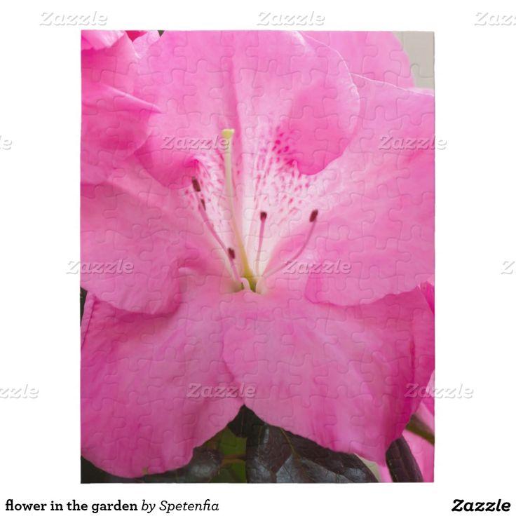 flower in the garden puzzle