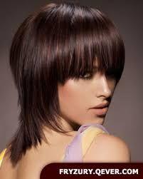 Znalezione obrazy dla zapytania fryzury damskie półdługie