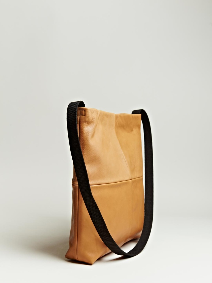 Everyday use | Sunsea Men's Leather Panel Bag