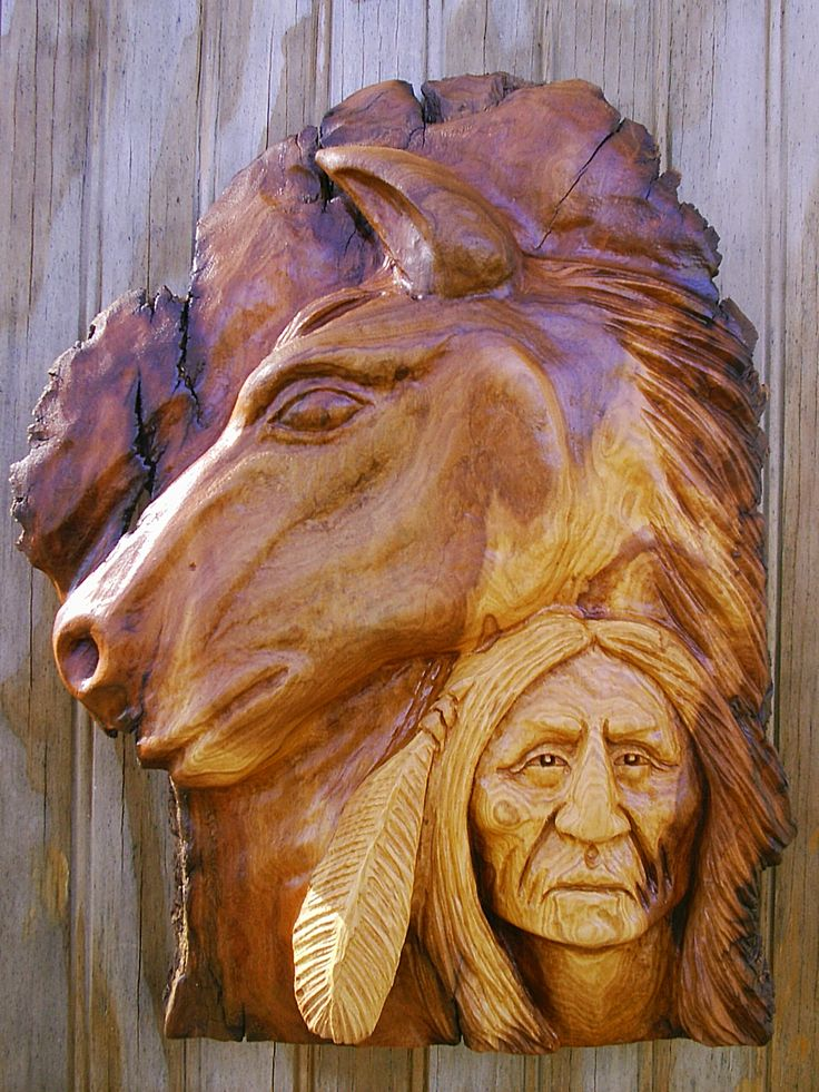 Wood spirits carvings past spirit and