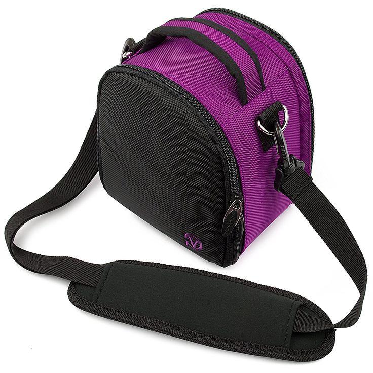 Amazon.com : VanGoddy Laurel Carrying Bag for Nikon Coolpix L840 / L830 / L340 / L320 L820 / L610 / L810 / L120 / L110 / L100 Digital SLR Cameras (Purple) : Camera & Photo