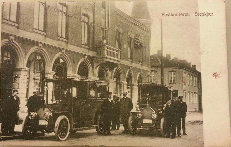 Steinkjer postkontor 1910