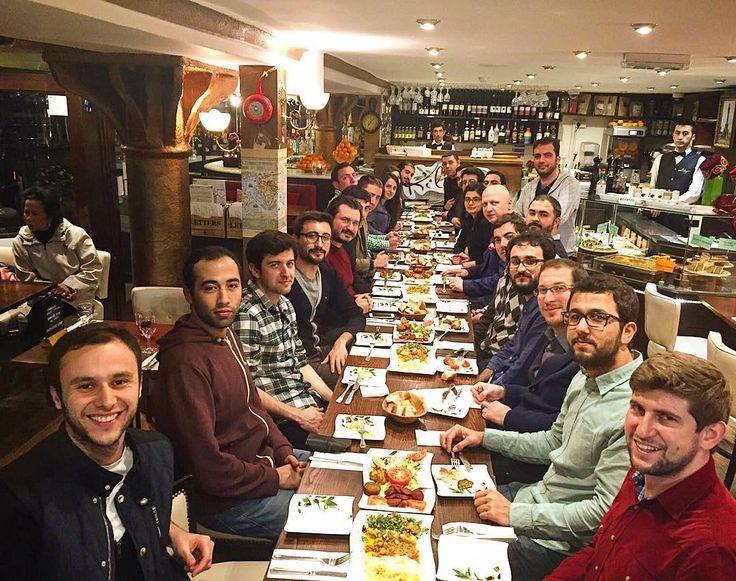 SOLDARITY DINNER BETWEEN TUSU(TURKISH STUDENT UNION OF UK) AND BITAF(BRITISH INSTITUTE OF TURKISH AFFAIRS) 9/3/2016 by kilikyas