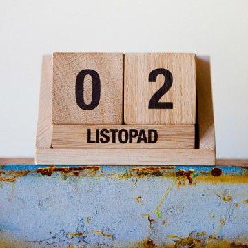 kalendarz drewniany  - Pakamera.pl