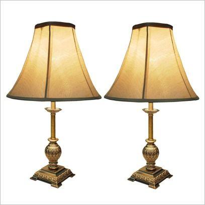 Table Lamp in Beige Exotic Lighting | Wayfair