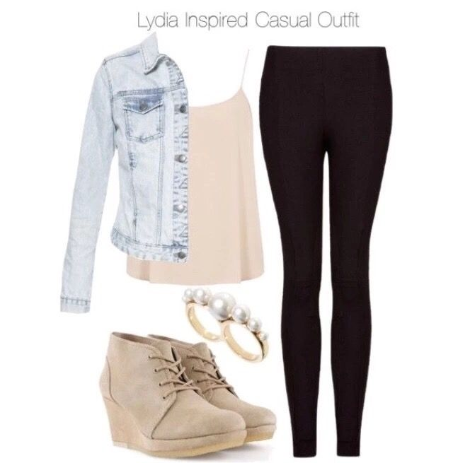 Lydia Inspired Casual Outfits