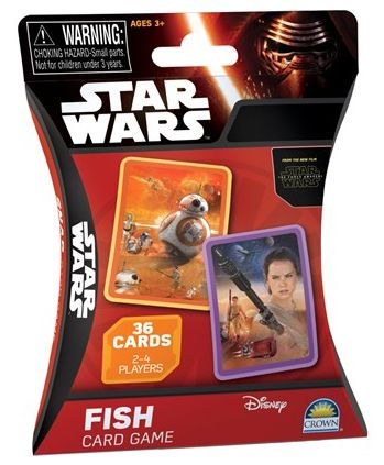 Star Wars Go Fish! Card Game