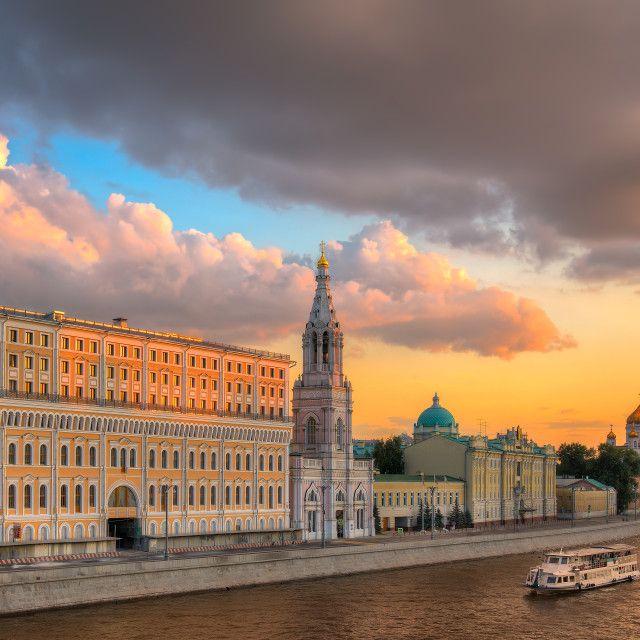 """Moscow sunset"" by Alexander Novikov - $13.19"