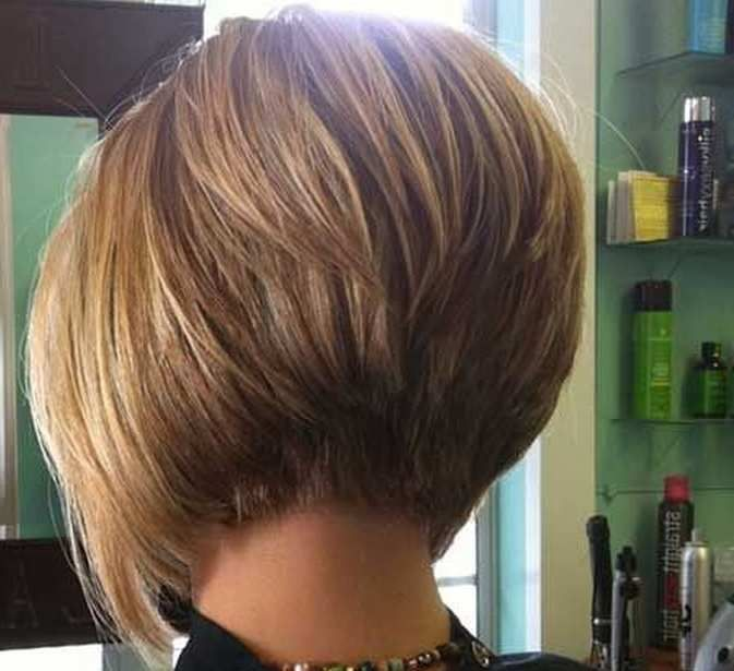 Stacked Bob Hairstyle 15 short hairstyles for women that will make you look younger Popular Bob Haircuts For Round Face Httpocuskicompopular