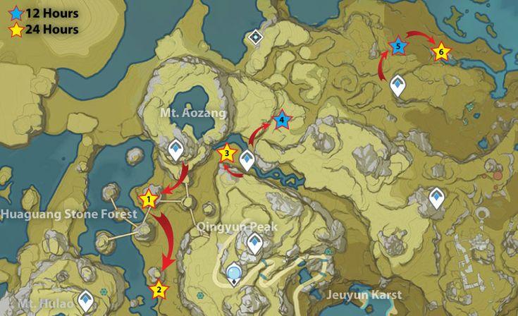 47+ Genshin impact artifact farming route ideas