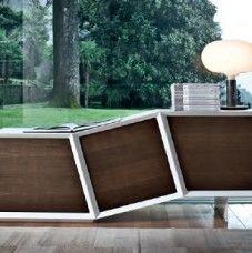 Credenza moderna di design in MDF Flai Cartisia
