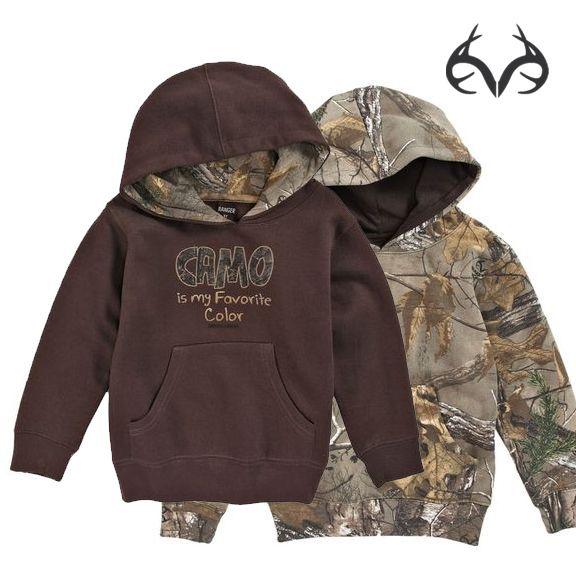 #realtreeXtra #Camo Toddler #Hoodie - Camo Is My Favorite Color $16.88