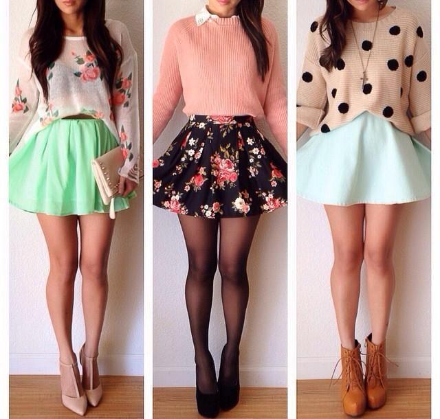 Best 25  Skater skirts ideas on Pinterest | Skater skirt, Skater ...