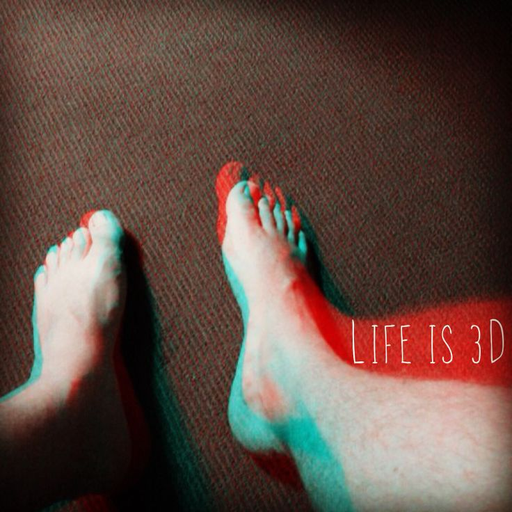 Life is 3D