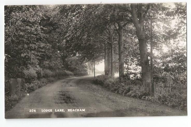 Norfolk Heacham Lodge Lane Real Photo Vintage Postcard 28.2 | eBay