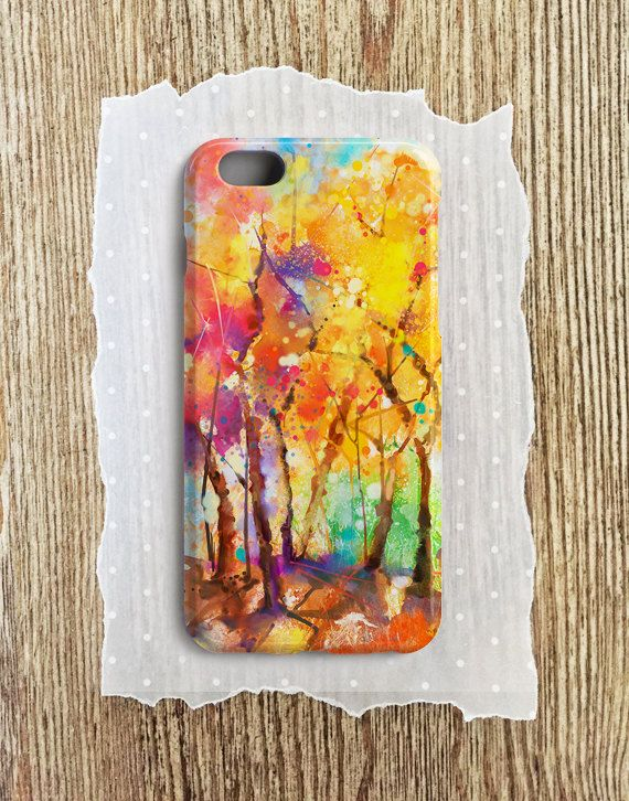 Fall Phone Case Fall Tree Fall Leaves Fall iphone Case by CaseWorm