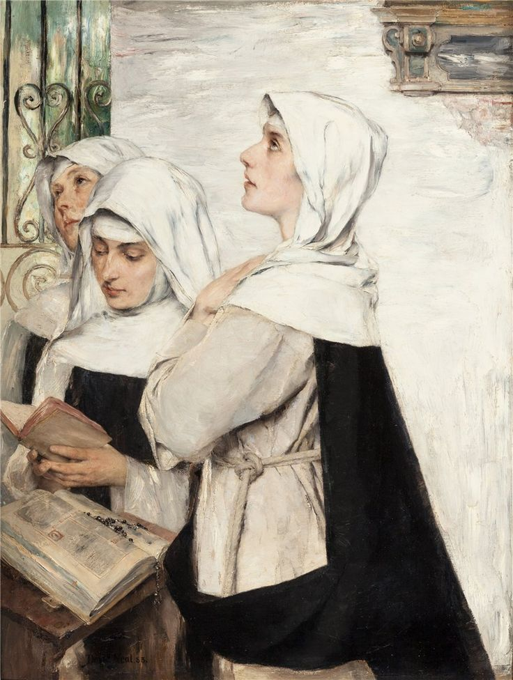 Image result for a catholic praying  painting