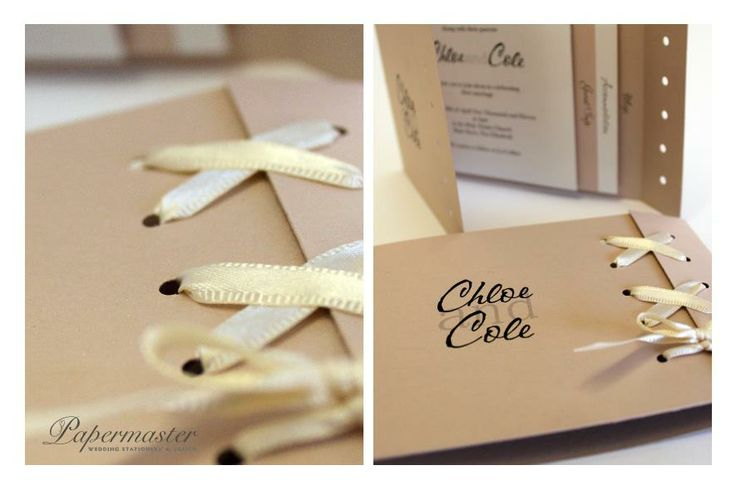 Our 'Chloe and Cole' Corset Invitation — at Papermaster. Port Elizabeth Wedding Stationery  Papermaster