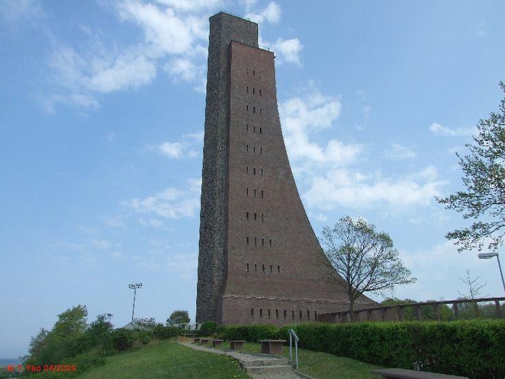 Laboe, Germany - Navy Memorial / Submarine Museum. Marine Ehrenmal