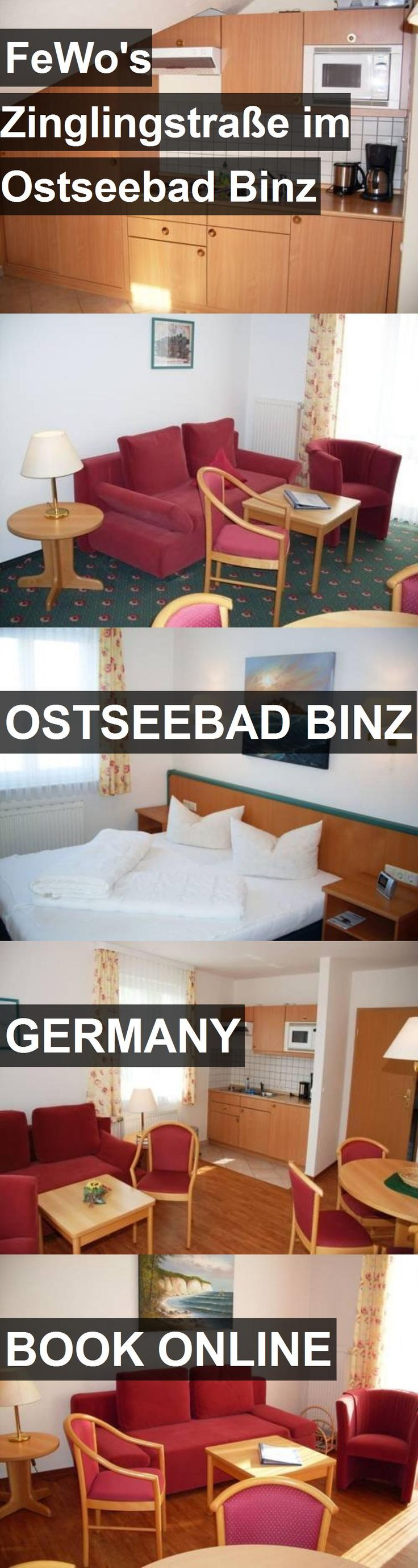 Hotel FeWo's Zinglingstraße im Ostseebad Binz in Ostseebad Binz, Germany. For more information, photos, reviews and best prices please follow the link. #Germany #OstseebadBinz #travel #vacation #hotel