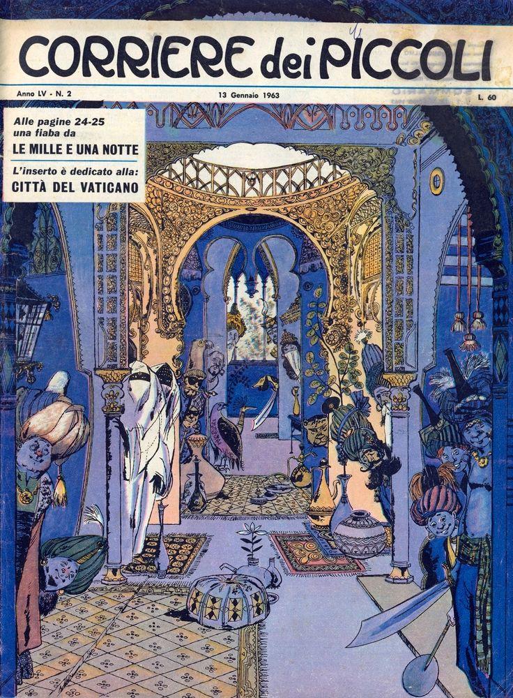 Marùf il ciabattino del Cairo Tratto dal nº 2 del 13 gennaio 1963 del Corriere dei Piccoli 01
