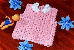 batita en Tejido Crochet