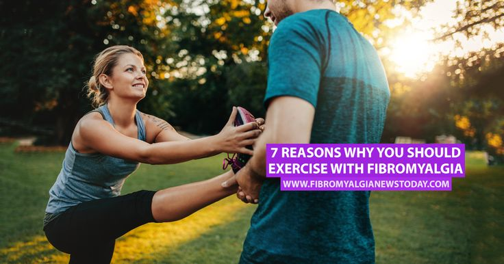 Exercise has been found to help fibro patients in a number of ways and helps reduce the frequency and severity of flare-ups.