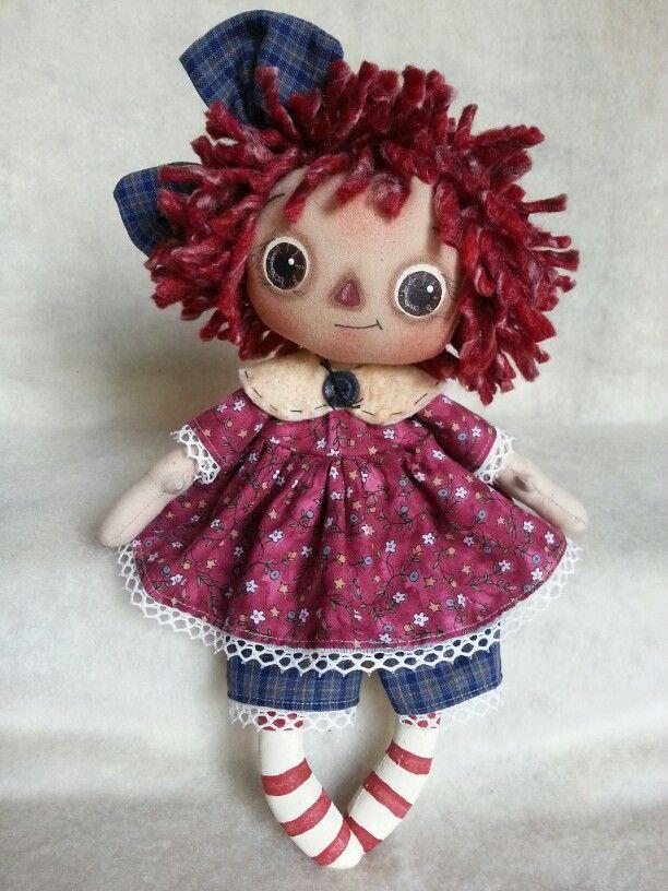 Annie cloth doll inspiration