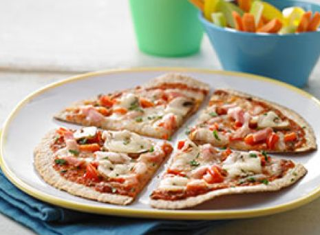 Speedy Flatbread Pizza, A Family-Friendly Recipe