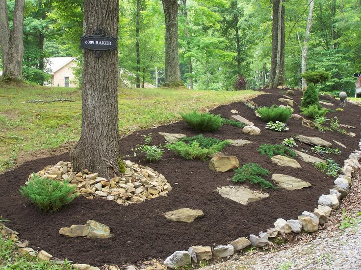 creative fencing on a hillside | Backyard Landscaping for ...