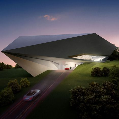 Concept villas for golf and spa resort, Dubrovnik, by Zaha Hadid Architects