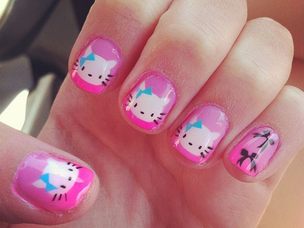 16 best overwhelming hello kitty nail designs images on pinterest nail art design ideas cool easy cute acrylic this site provide information and picture of nail s nail ideas nail glitter acrylic nail po prinsesfo Choice Image