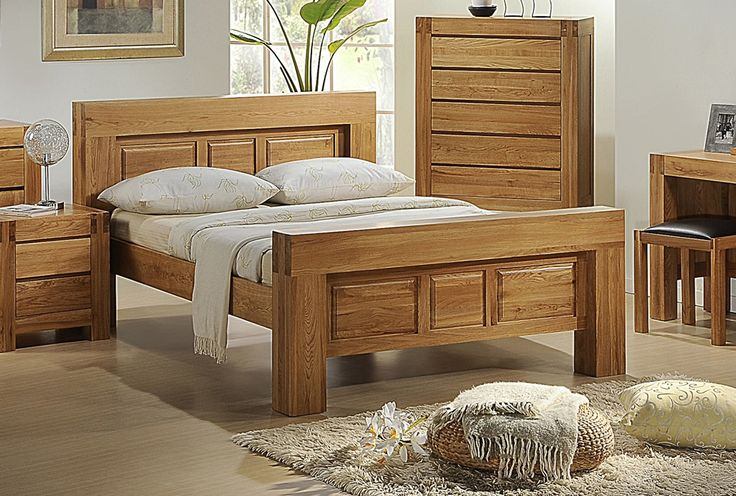 Victoria Double Bed Solid Oak With Oak Veneer we have on our website.