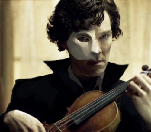 "GUYS IF YOU LIKE POTO OR ARE JUST LOOKING FOR NEW SHERLOCK FANFICTION SEARCH ""Sherlock phantom of the opera"" AND THERE IS ACTUAL SHERLOCK/POTO FANFICS!!!! AHHHH I'M SO HAPPY RIGHT NOW"