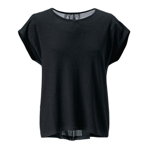 Shirt, Chiffon, leger geschnitten Vorderansicht