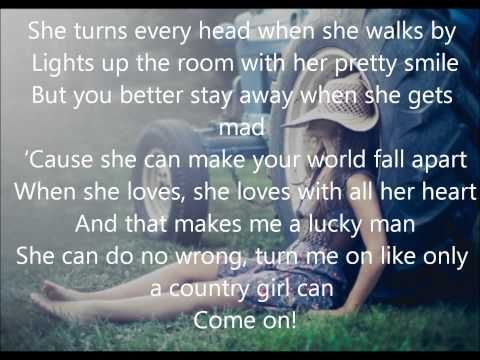 Only A Country Girl -Chase Rice