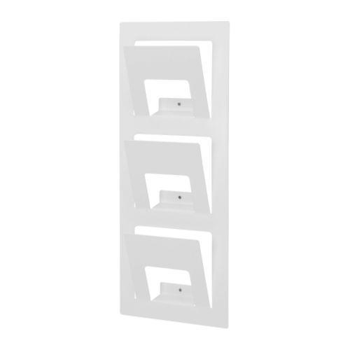 SPONTAN  Magazine rack, white  $9.99