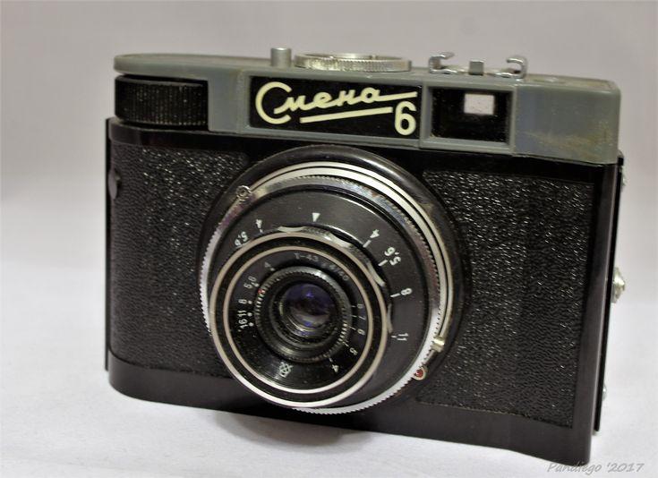 Smena 6 (GOMZ) - 35mm film (plastic body), viewfinder camera (1961-1969)