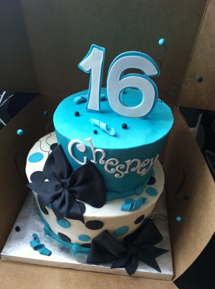 15 Best Birthday Cake Ideas Images On Pinterest 16th