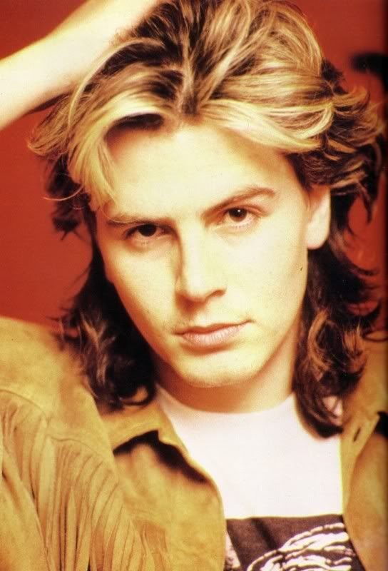 """John Taylor from Duran Duran..... I was 11 years old when Duran Duran became popular in the US....... John Taylor was my first """"celebrity """" Crush"""