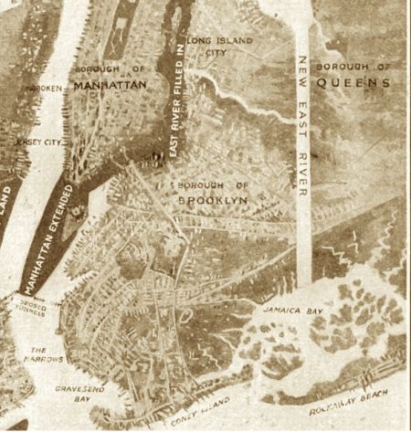 The bizarre 1916 plan to fill in the East River