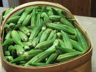 Freezing Okra (someone's) Mama's Way -- how to freeze okra for frying later  Wash, cut, salt &pepper. Add cornmeal with tiny amt of flour. Bake 20 mins at 350. Then cool and freeze. Fry later!