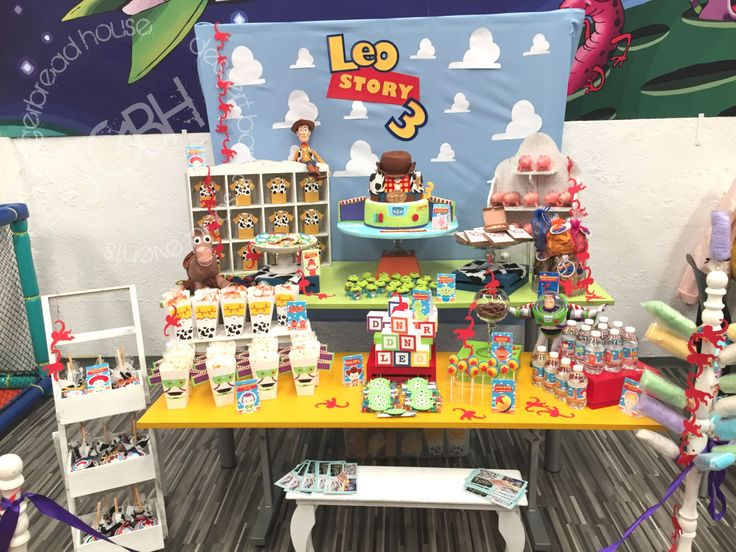 Toy Story  Candy Bar  Party Theme  Toy Story Candy Bar