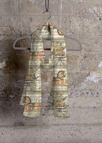 Cashmere Silk Scarf - four seasons of life by VIDA VIDA UVpQvT