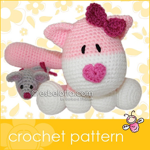 Crochet Patterns Etc : crocheted cats crochet animals dolls amigurumi crocheted crochet ...