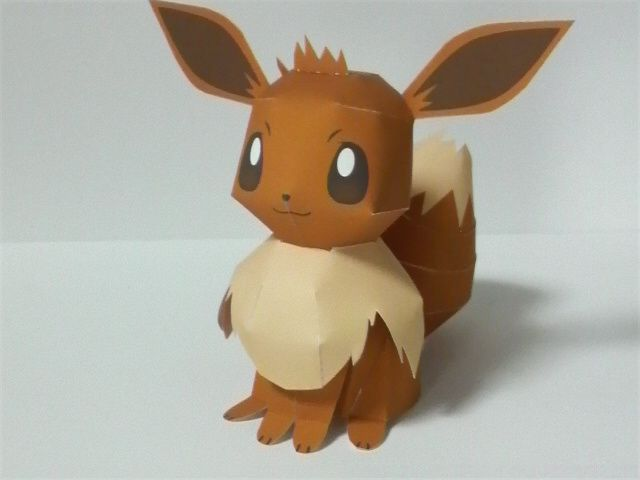 Evee-Pokemon paper toy